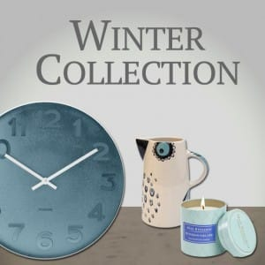 Winter Homeware, Accessories and Gifts