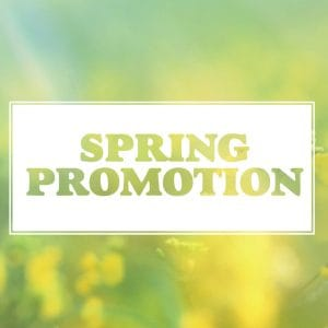 Spring Promotion and Sale