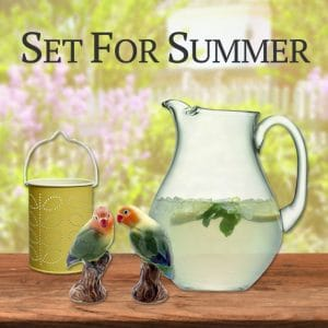 Set For Summer Homeware Collection