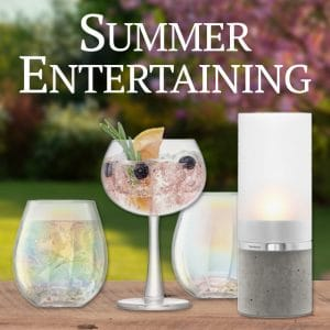 Summer Entertaining Home Accessories