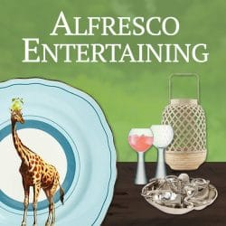 Alfresco Summer Entertaining