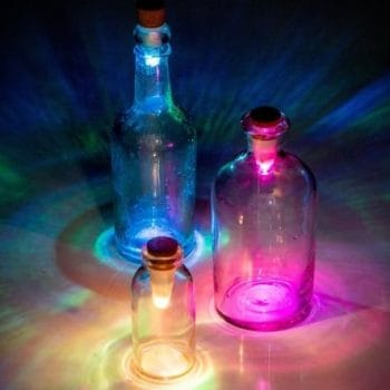 Suck UK Multicolour Bottle Light