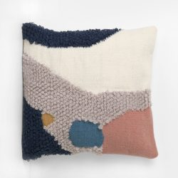 Ferm Living Abstract Kilim Cushion With Insert Landscape