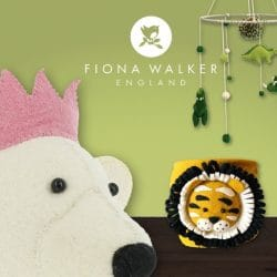 New Fiona Walker England Felt Animal Accessories
