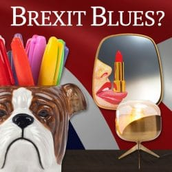 Brexit Blues Home Accessories For Creating Cheer
