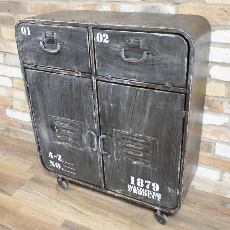 Hurn & Hurn Discoveries Industrial Storage Cabinet On Wheels