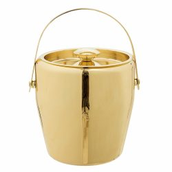 Bloomingville Stainless Steel Gold Ice Bucket