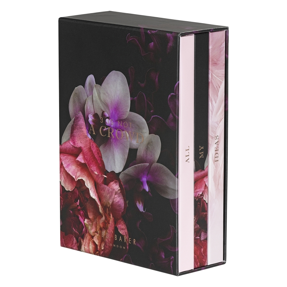 527419ca2562 Ted Baker Womens 3 Is Not A Crowd Notebooks Library - Set of 3