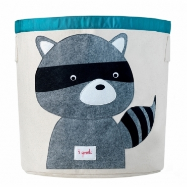 Storage Bin Large - Raccoon