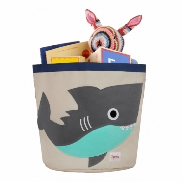 Storage Bin Large - Shark