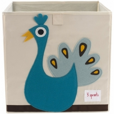 Storage Box - Peacock
