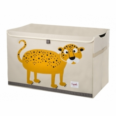 Toy Storage Chest - Leopard