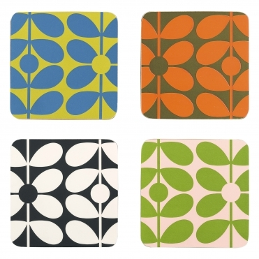 60s Stem Coasters - Set of 4