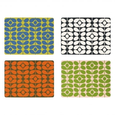 60s Stem Placemats - Set of 4