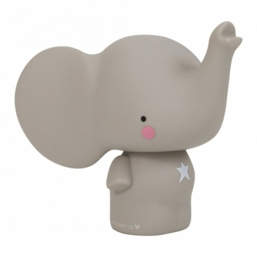 Grey Elephant Money Box