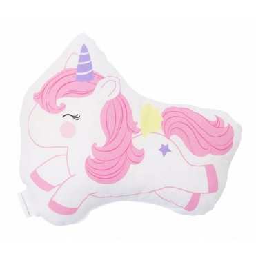 Jumping Unicorn Cushion
