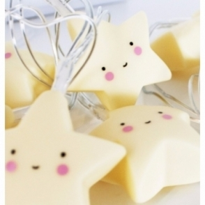 A Little Lovely Company LED Fairy String Lights - Stars
