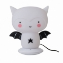 A Little Lovely Company Rechargeable Night Light Table Lamp - Bat