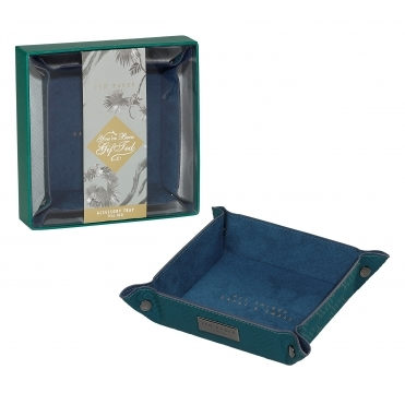 Accessory Tray - Teal Geo