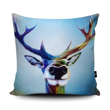 Adam Barsby Stag Selfie Cushion With Insert