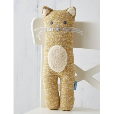 Soft Knit Toy - Cat