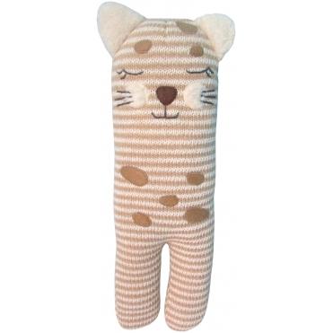 Soft Knit Toy - Cheetah