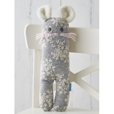 Soft Knit Toy - Mabel Mouse