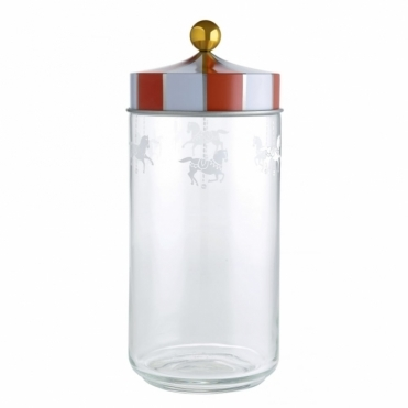 Circus Merry Go Round Glass Jar 150cl - by Marcel Wanders