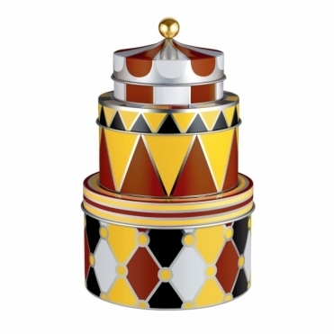Circus Storage Boxes/Tins Set of 3 - by Marcel Wanders