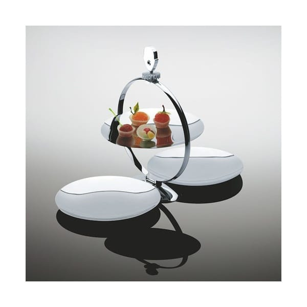 Alessi Fatman Folding Cake Stand Mw08 Stainless Steel