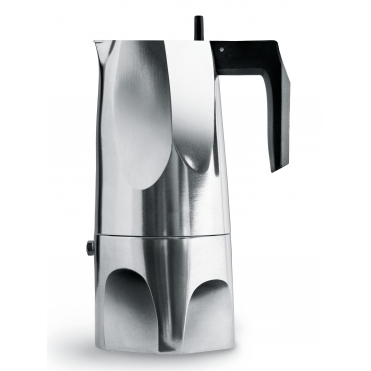 Ossidiana Espresso Stovetop Coffee Maker MT18/6 Cafetiere