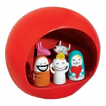 Presepe Nativity Set Red AMGI10 R