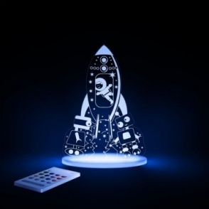 Astronaut & Rocket SleepyLight Colour Changing LED Night Light with Remote