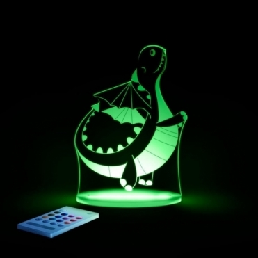 Dragon SleepyLight Colour Changing LED Night Light with Remote