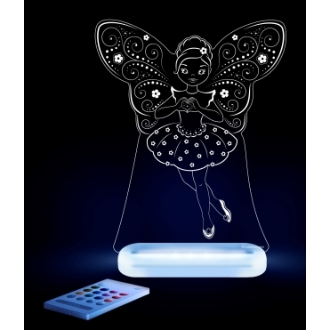 Fairy Ballerina SleepyLight Colour Changing LED Night Light with Remote