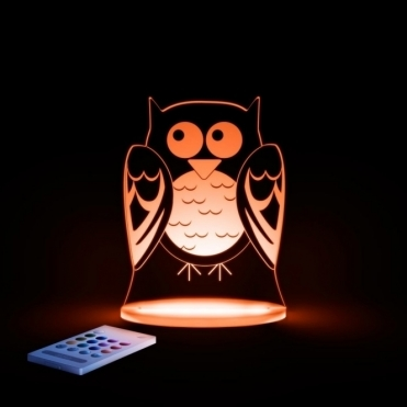 Owl SleepyLight Colour Changing LED Night Light with Remote