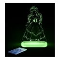 Aloka Princess SleepyLight Colour Changing LED Night Light with Remote