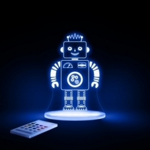 Robot SleepyLight Colour Changing LED Night Light with Remote