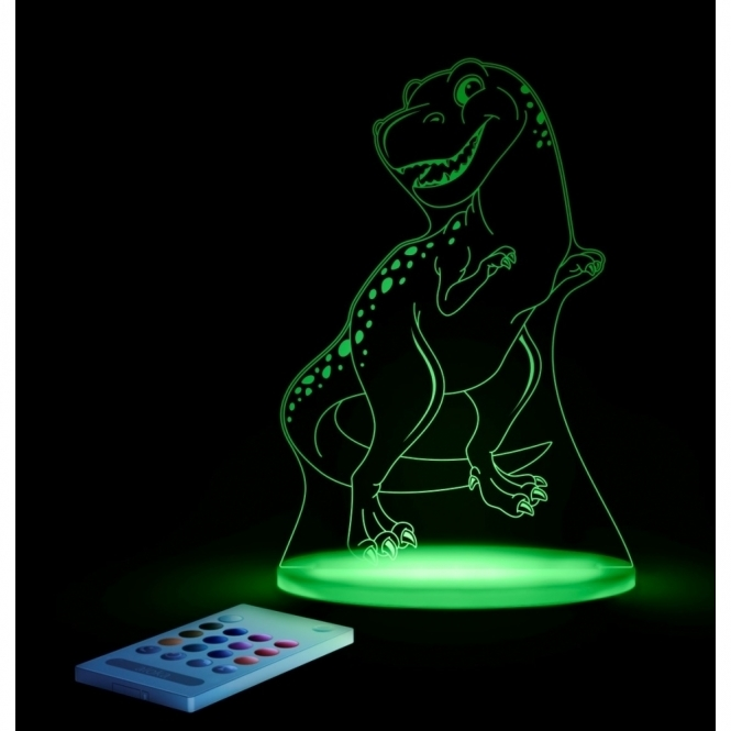 T Rex Dinosaur SleepyLight Colour Changing LED Night Light with Remote