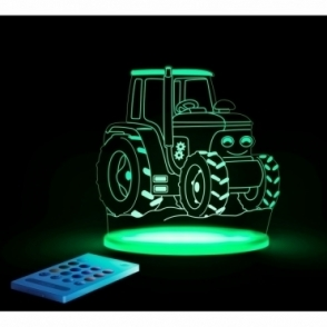 Tractor SleepyLight Colour Changing LED Night Light with Remote