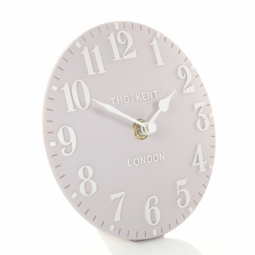 Arabic Mantel Clock - Dusty Pink