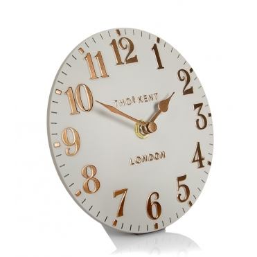 Arabic Mantel Clock - Flint Grey