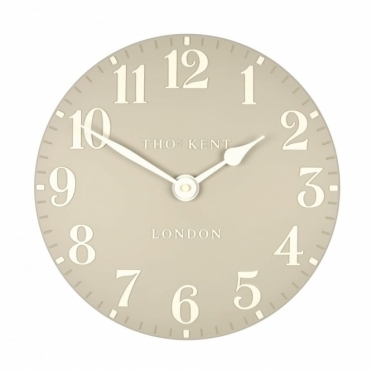 Arabic Small 12 inch Wall Clock Stone