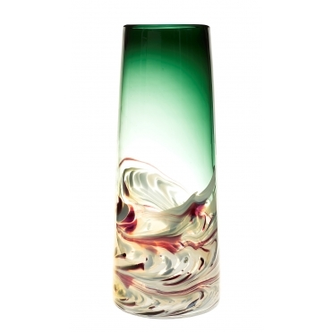 Athena Emerald Tall Vase