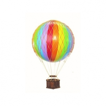 Floating the Skies Hot Air Balloon - Rainbow