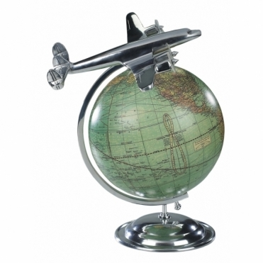 On Top Of the World - Plane & Globe