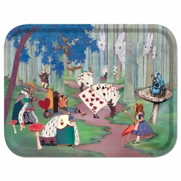 Alice Lost in the Woods Tray by Louise Kirk