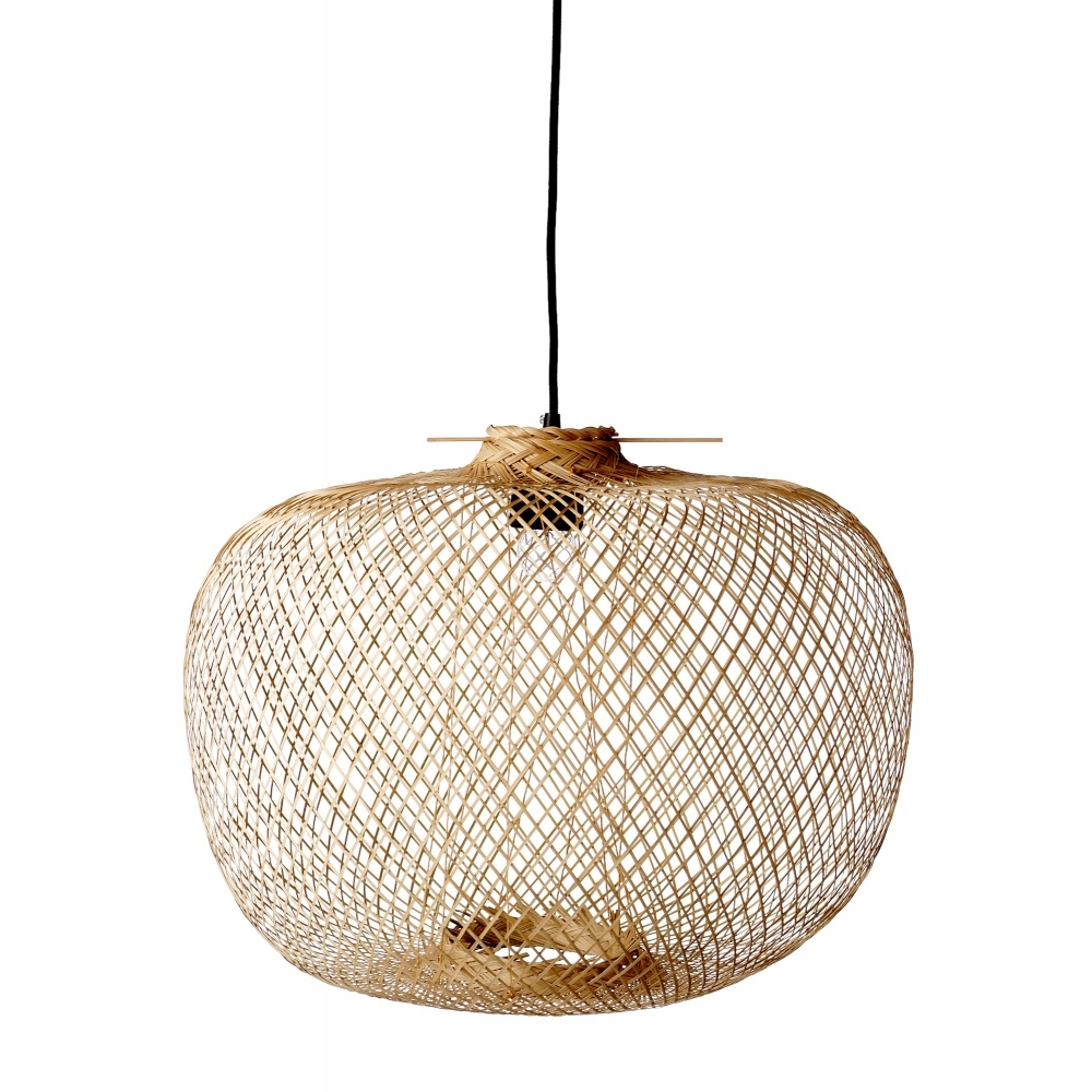 Bloomingville bamboo pendant ceiling light hurn and hurn bamboo pendant ceiling light aloadofball Choice Image