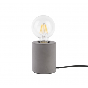 Bar Table Lamp - Dark Grey Concrete