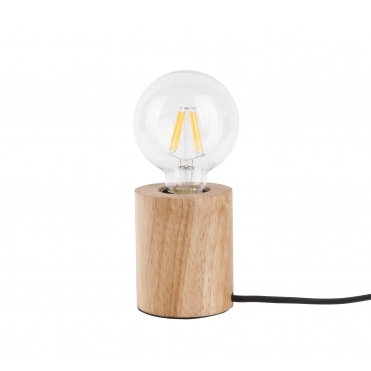 Bar Table Lamp - Wood